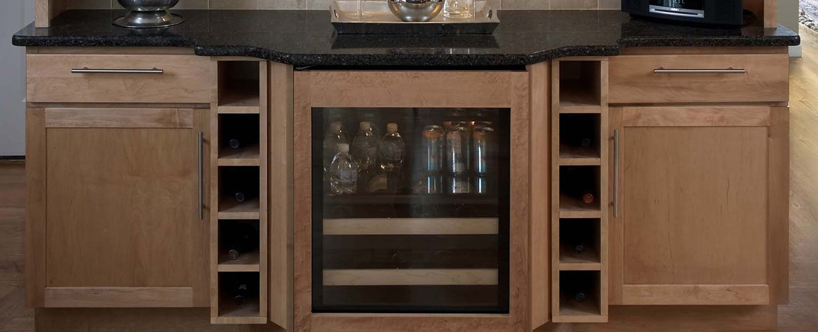 Wine Rack Or Refrigerator Creating The Perfect Home Bar