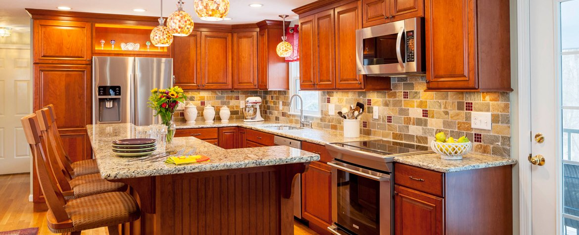 Northborough Kitchen Remodeling Project Creates More Space