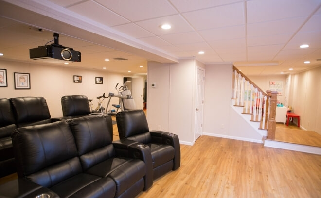 Basement Remodeling Finishing Boston MA Harvey Remodeling Fascinating Basement Remodeling Boston Ideas Design