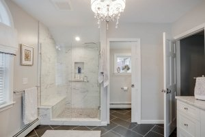 Master Bath Shower Upton