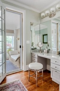 Master Bedroom elegant dressing vanity