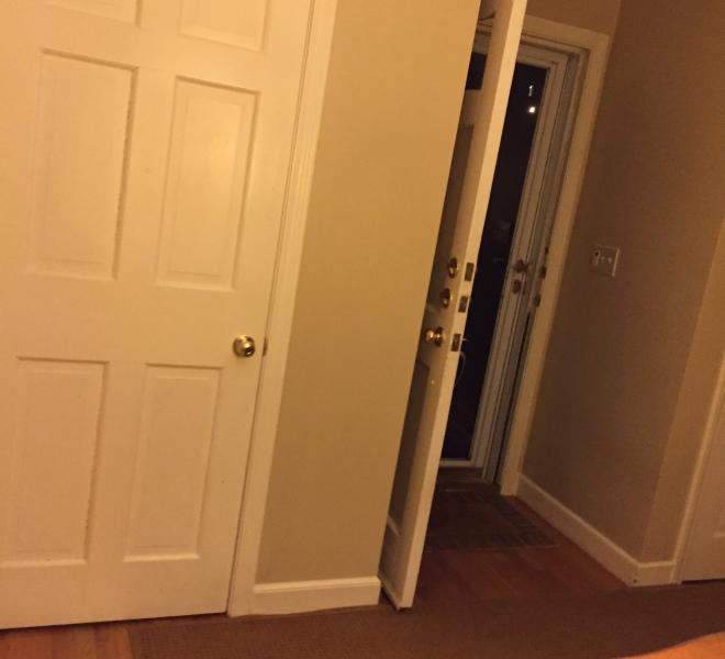 Small entry door